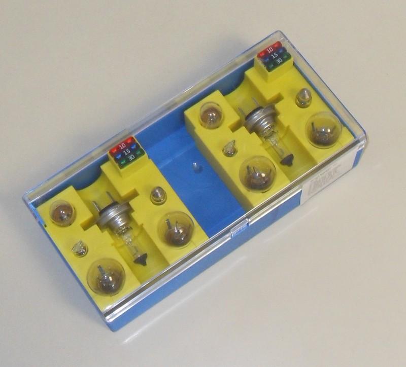 Glühlampenbox 24V doppelt H7 [32-000445]