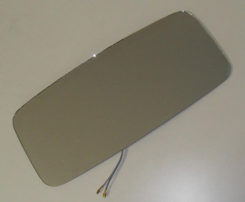 Spiegelglas 24V 185x408x3 p.f. Mercedes 0008113833 [018.041-00]