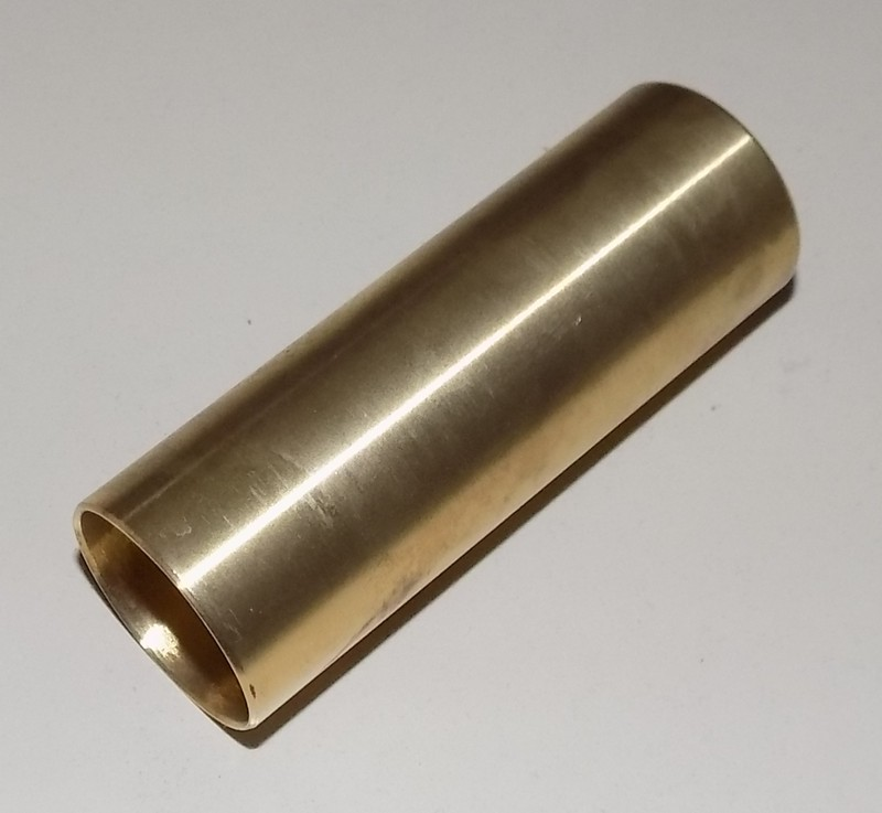 Messingbuchse 26x28x80 ohne Nut [04-000122]