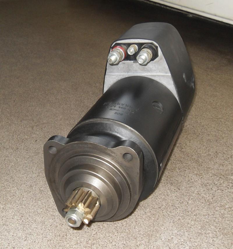 Anlasser 12V 3,6kW p.f. Mercedes Unimog 0001513301 [081468012]
