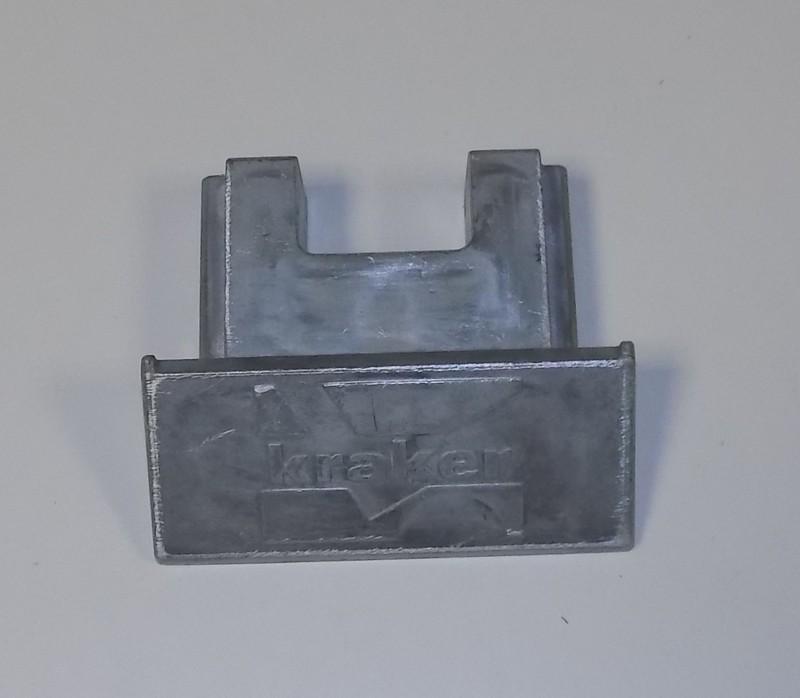Endkappe ALU 12mm Schubboden p.f. Kraker 5000839 [10-000599]