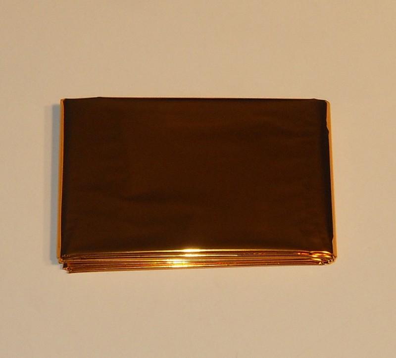 Rettungsdecke 160x210cm Silber/Gold [225033]