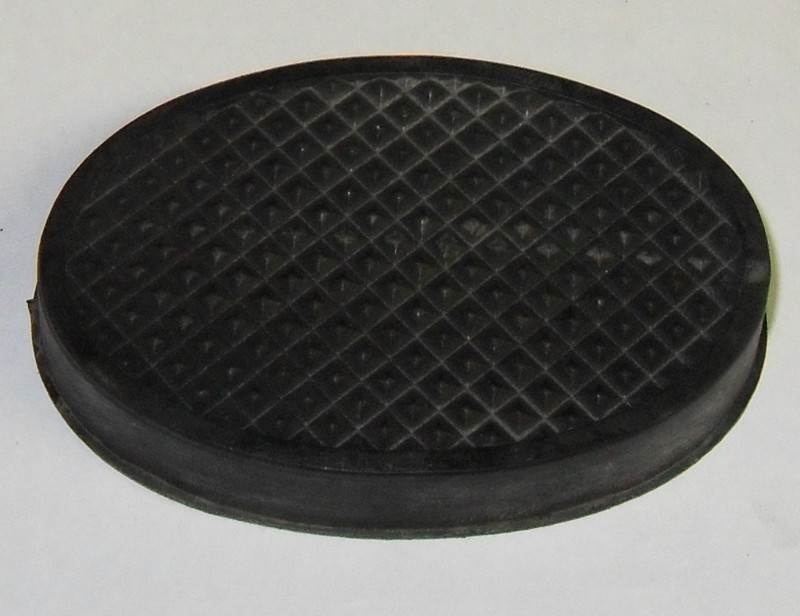 Pedalgummi oval p.f. M25 [27-000045]