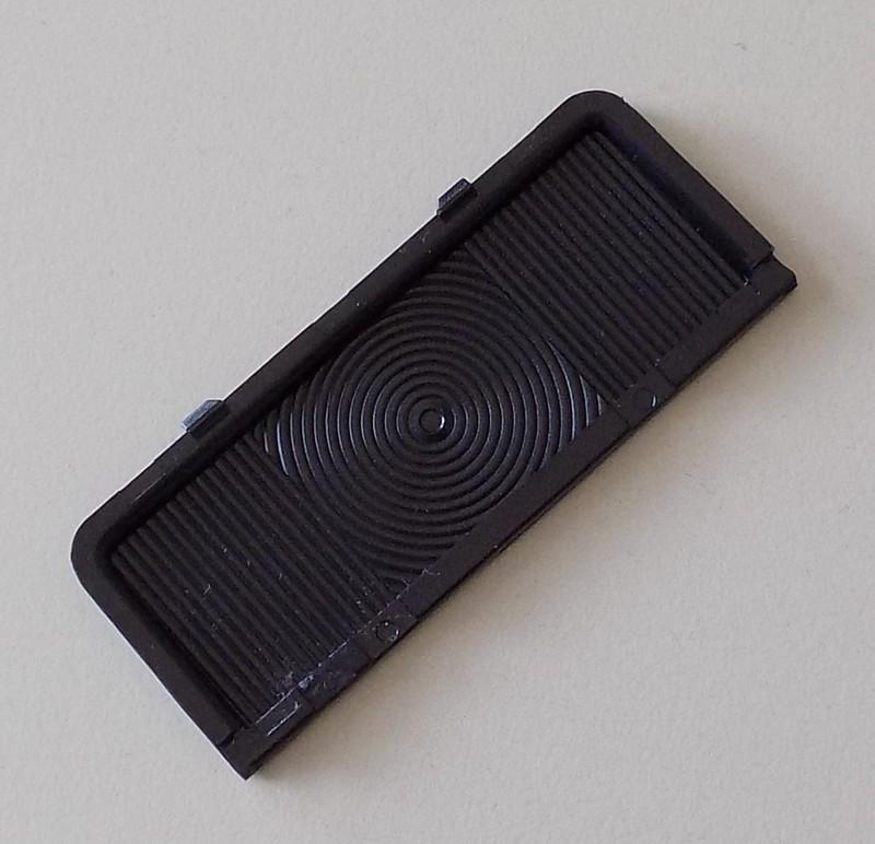 Lichtscheibe schwarz p.f. Umrißleuchte 2XS007841021 [32-000707]