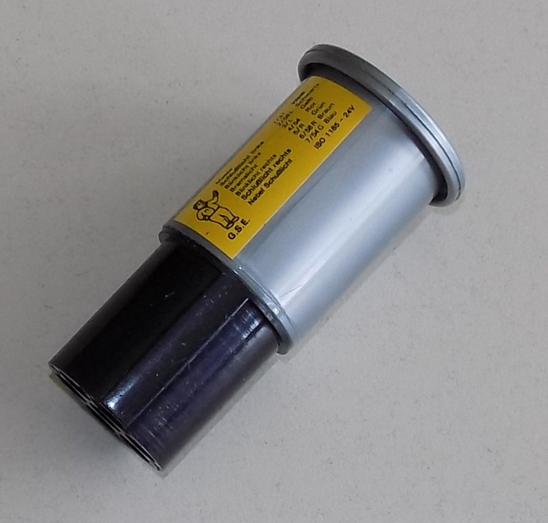 Prüfstecker 24V/7-polig [32-000928]