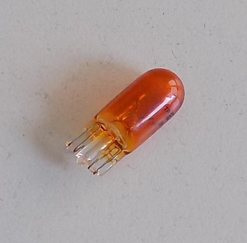 Glühlampe 12V 5W orange W2,1x9,5 [32-000949]
