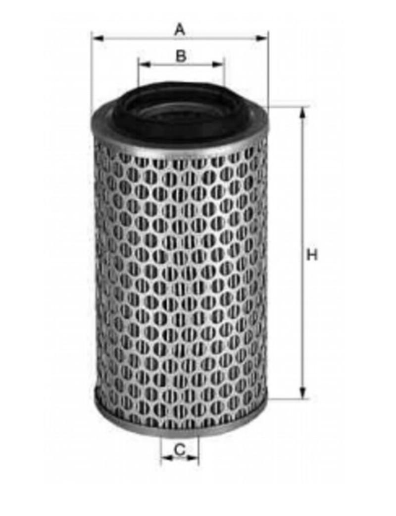 Luftfilter p.f. Mercedes Actros 0040942504 [38-000150]