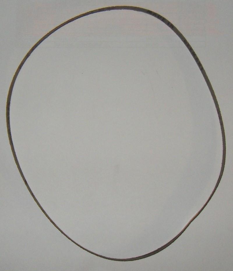 Schleifband 6x610 Korn 60 für Druckluft-Handbandschleifer [4645]