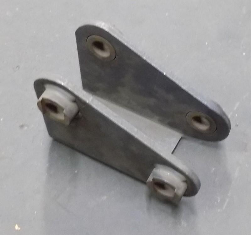 Zuggabel-Parabelfederschuh niedrig 80x130x230 [AH1930-80]