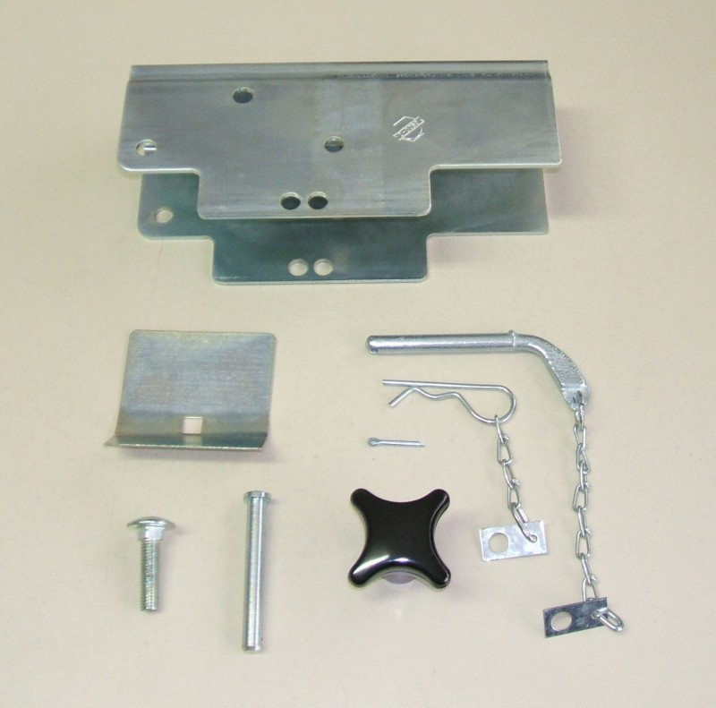 Adapter schwenkbar kpl. für Rohrbefestigung [090.864-00]