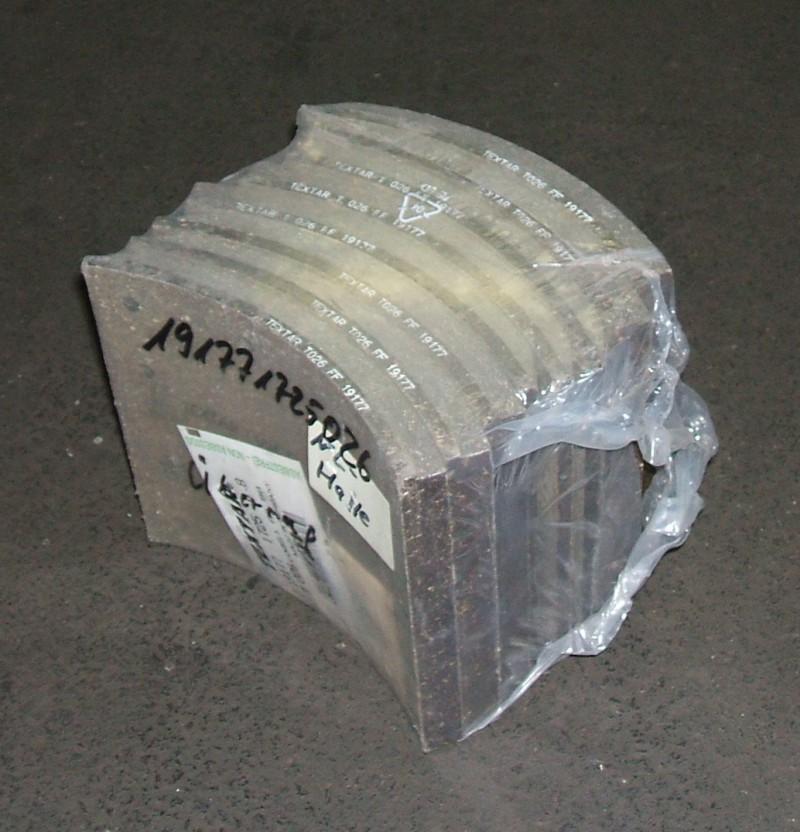 Trommelbremsbelagsatz 360mm 1.Übermaß p.f. MAN [191771725026]