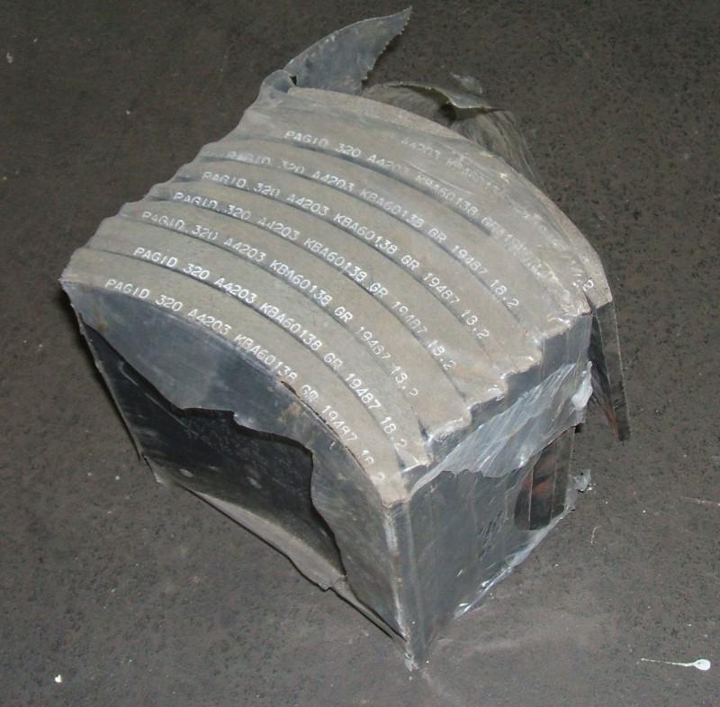 Trommelbremsbelagsatz 180mm 1.Übermaß p.f.Mercedes[B9671-327]