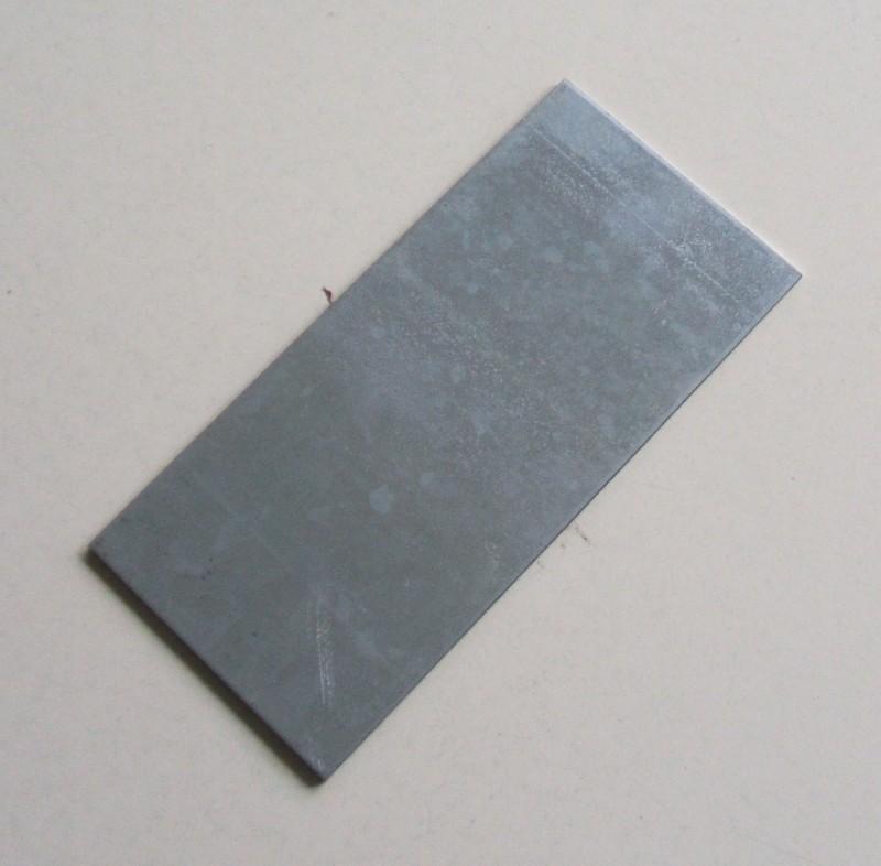 Platte oben 3mm 197x94mm verzinkt p.f. ROR [21222330]