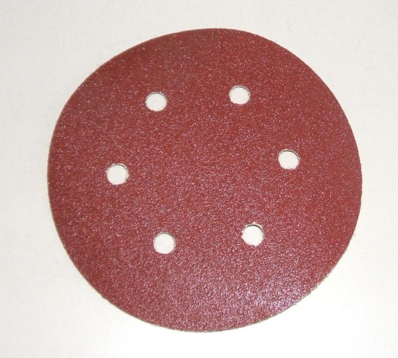 Schleifscheibe 150mm Durchmesser kletthaftend [86635]