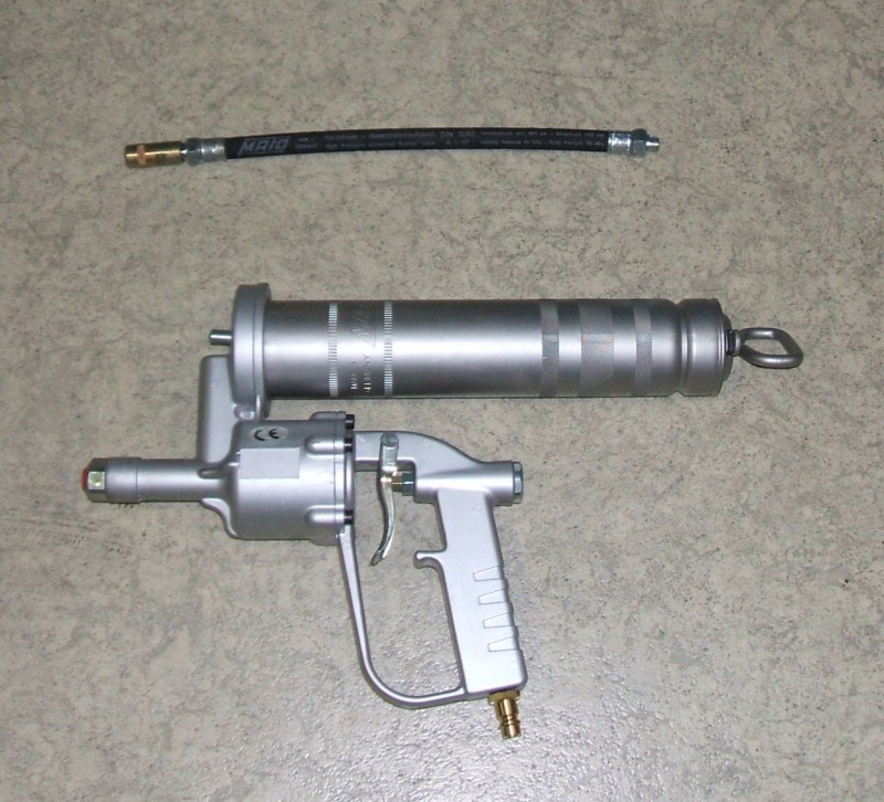 Fettpressen-Set E500M Druckluftbetrieb [MAT.08]