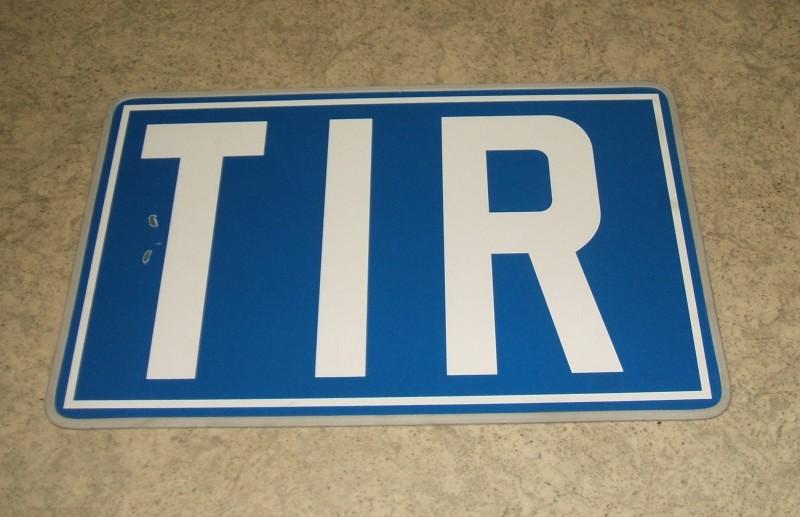 TIR-Warntafel starr 250x4000mm ALU [11010]