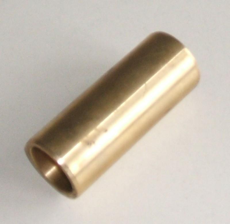 Messingbuchse 25x32x80 mit Nut [074.635-00]