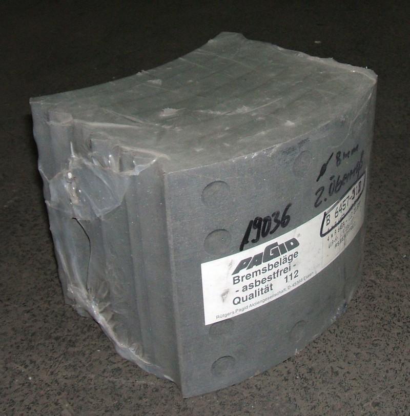 Trommelbremsbelagsatz 2.Übermaß, 8mm Nietloch [B6457-918]