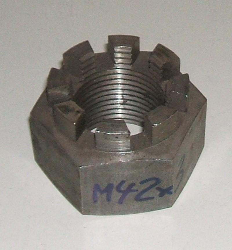 Kronenmutter M42x3 p.f. BPW 0252770100 [402.007-00]