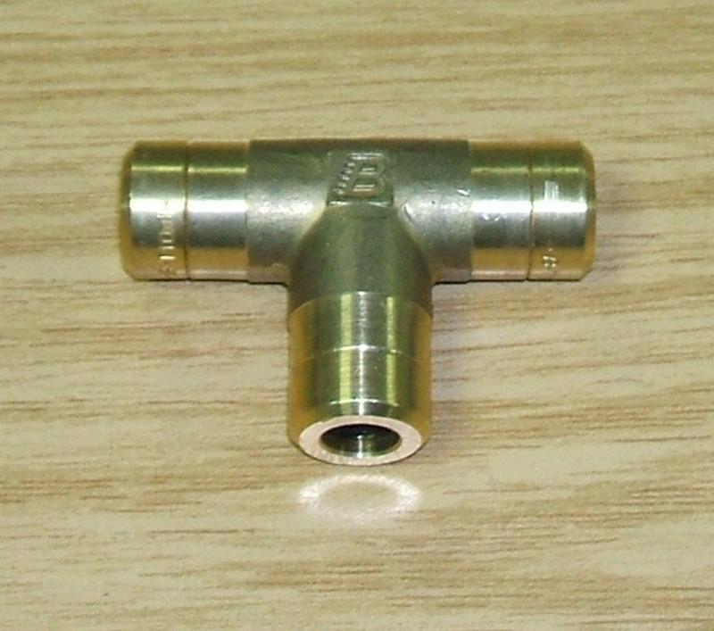 Schnellverbinder 10x1 T-Stück