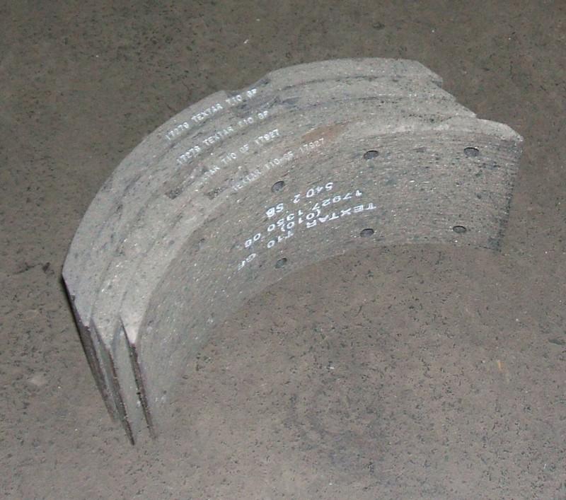 Trommelbremsbelagsatz 105mm p.f. Mercedes DB814 [17278135010]