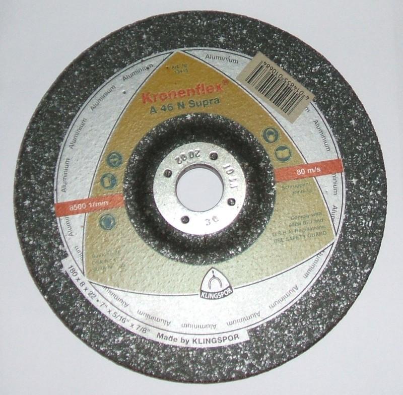 Schruppscheibe 178x8x22 A46N Metall [13415]