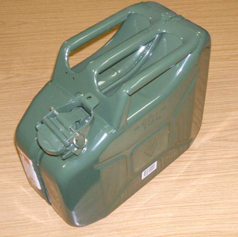 Kanister 10L Blech UN TÜV/GS grün [36302339]