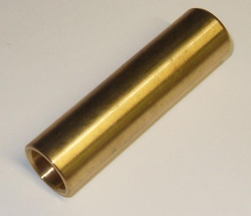 Messingbuchse 12x16x60 mit Nut [T121.660]