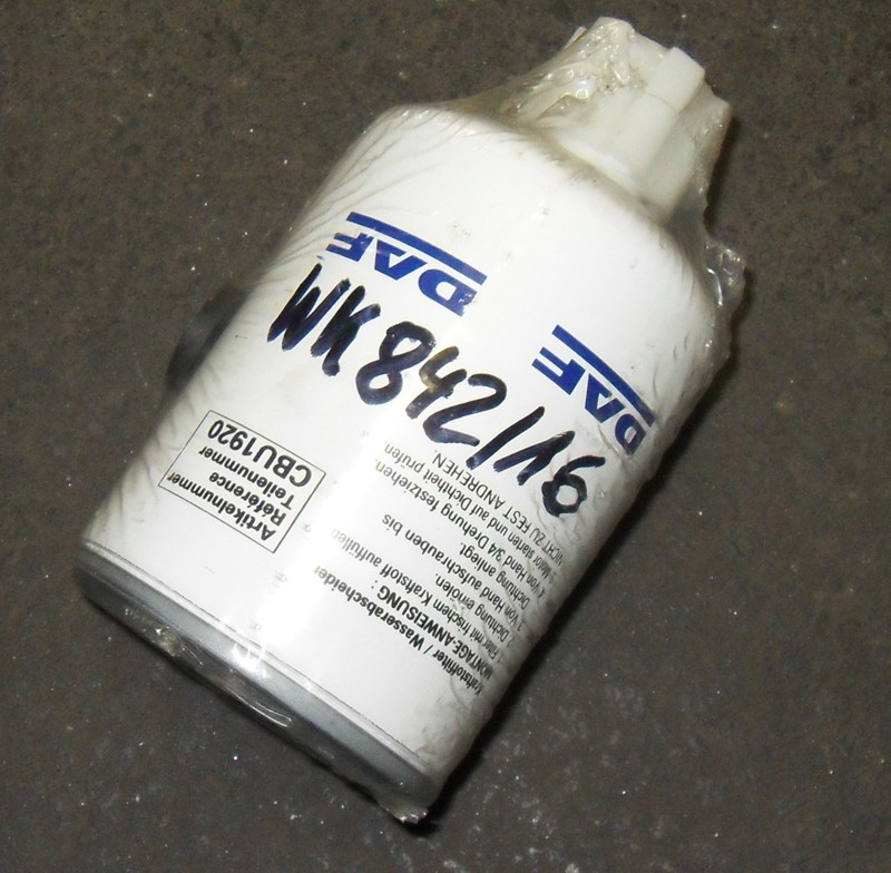Kraftstofffilter p.f. DAF45 CBU1251 [WK842/16]